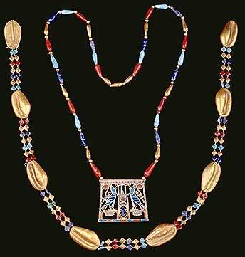 ювелирный музей – ювелирное искусство в древнем Египте: украшения Сататор, 12 Династия