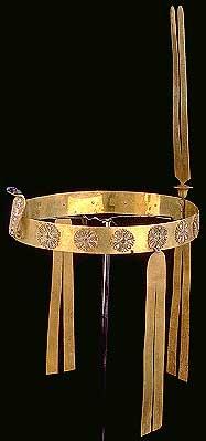 ювелирный музей – ювелирное искусство в древнем Египте: диадема Стататориунет