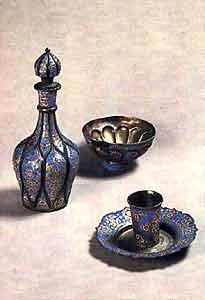 Ювелирное искусство Грузии XIX-XX вв. Кувшин, чаша, стакан