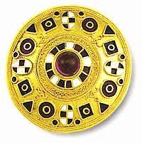 Музей ювелирного искусства – Греция – Часть 10.2. Современность (1827-1995).  Брошь в византийском стиле