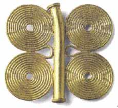 Музей ювелирного искусства – Греция – Часть 4. Античная Греция (1100-27 до РХ) Часть золотого ожерелья