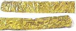 Музей ювелирного искусства – Греция – Часть 4. Античная Греция (1100-27 до РХ) Золотой пояс