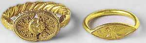 Часть 5. Архаический период. Золотые кольца из некрополя