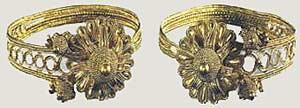 Золотые серьги из Синдоса