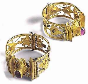 Музей ювелирного искусства – Греция – Часть 6.1. Эллинский период. Пара золотых браслетов