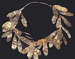 Музей ювелирного искусства – Греция – Часть 6.2. Эллинский период. Золотой венок