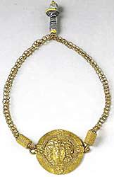 Музей ювелирного искусства – Греция – Часть 7. Романский период. Золотое ожерелье