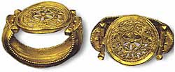 Музей ювелирного искусства – Греция – Часть 8.1. Византия (4-15 век). Пара золотых браслетов