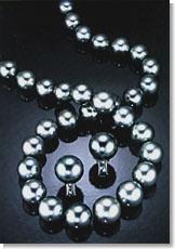 Таитянские ювелирные изделия с жемчугом